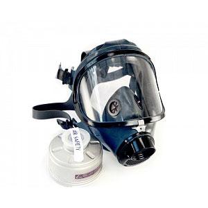 MASCARA FACIAL RESPIRATORIA PANORAMICA FULL FACE – AIR SAFETY – CA 5758