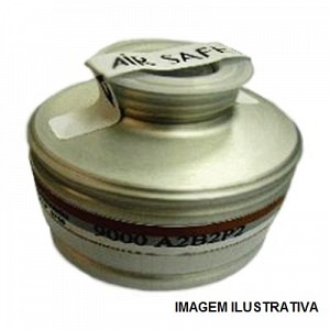 FILTRO QUIMICO VO 9000 A2 PARA MASCARA RESPIRATORIA FULL FACE – PANORAMICA – AIR SAFETY – CA5758